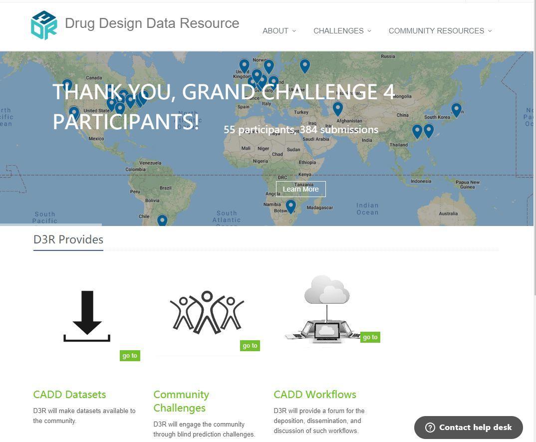 JCAMD | D3R药物设计比赛中的深度学习工具MathDL