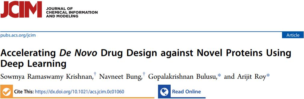 JCIM | 深度学习加速新型靶蛋白的药物从头设计